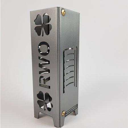 Viefhaus_Made_of_Steel_RWO_Kleeblatt_Gasometer_Teelicht_aus_Metall