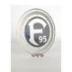 Fortuna Düsseldorf Logo zum Aufstellen