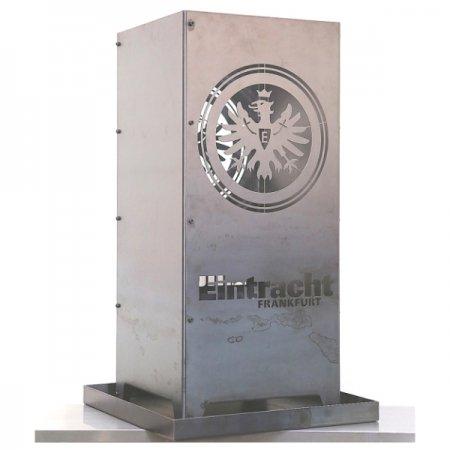 Eintracht Frankfurt Feuersäule aus Metall