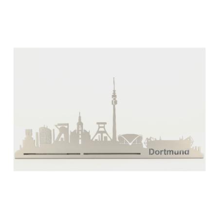 Silhouette Stadtansicht Dortmund