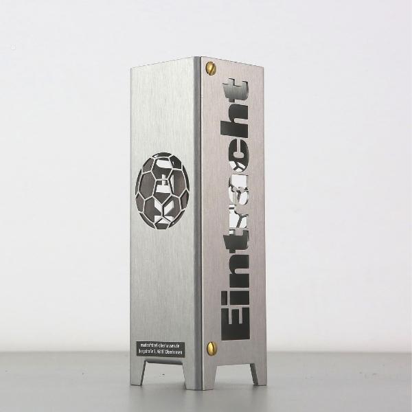 Eintracht Frankfurt Teelicht aus Metall