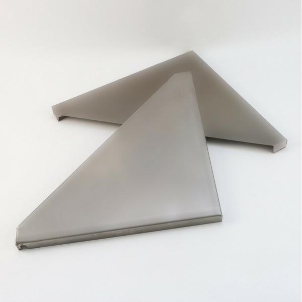 Dreieckböden für Feuersäule universal - Stahlblech