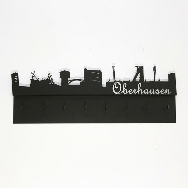 Ruhrpott-Garderobe Skyline Oberhausen 800 x 280 x 51 mm