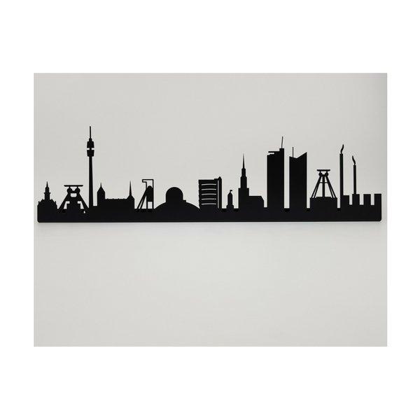 Ruhrpott Skyline aus Metall 560 x 100 x 21 mm ohne Schriftzug
