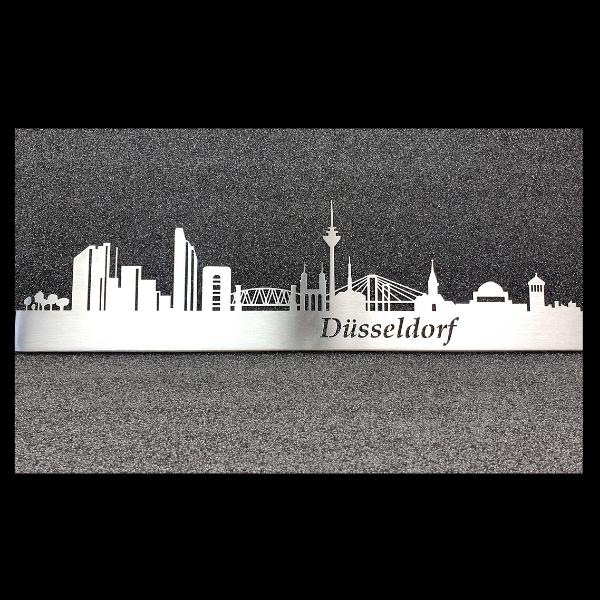 Skyline Düsseldorf als Wandbild