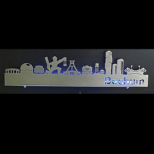 Skyline Bochum Wanddekoration