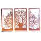 Wanddekoration aus Metall Lebensbaum