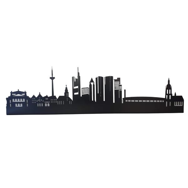 Frankfurt Skyline aus Metall